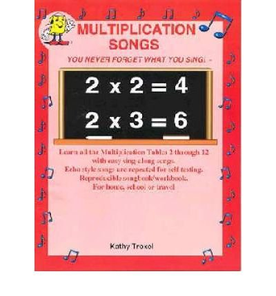 Multiplication Songs Cd (Audio disc) - Common