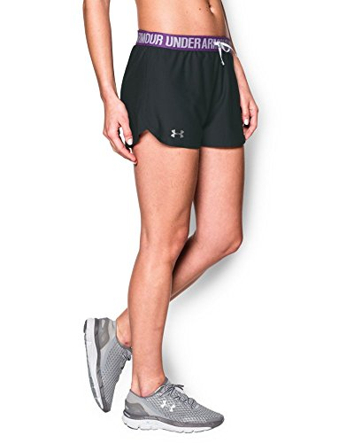 Under Armour Women's Play Up Shorts, Anthracite (017), Large