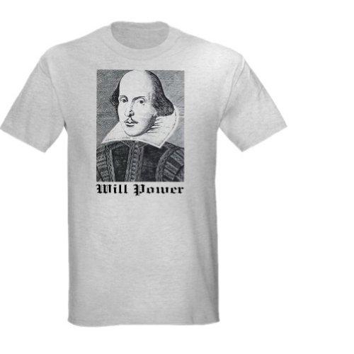 Will Power Unisex T-Shirt (Child Large, Ash Grey)
