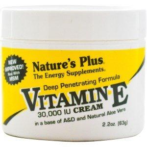 休み前ポータル[海外直送品] ネイチャーズプラス(Nature's Plus) ビタミンEクリーム 30,000IU 63g