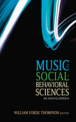 Download Music in the Social and Behavioral Sciences: An Encyclopedia Pdf
