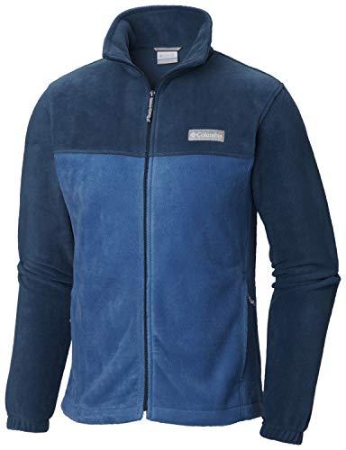 Columbia Mens Steens Mountain Full Zip Fleece 2.0, Petrol Blue, Im, Medium