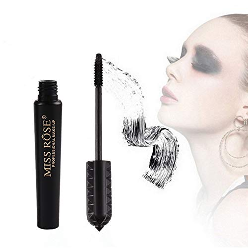 New 4D Fiber Lash Mascara, Premium Formula with Highest Quality Natural,Heavy Full Figure Membrane Force Eyelash to Cream