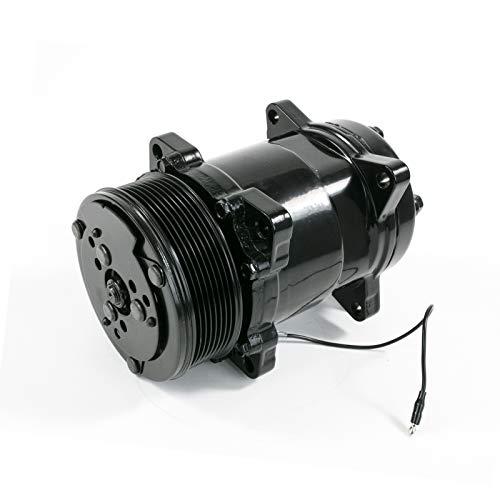 TSP Black Sanden 508 Style Serpentine Belt A/C Compressor HC5002BK