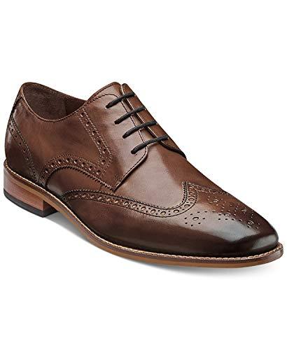 Florsheim Men's Marino Wingtip Oxfords, Created for Macy's, Brown, 9D