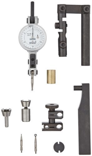 Fowler 52-562-120 X-Test Indicator and Accessory Combo Kit, 0.001 Graduation Interval, 0.0600 Maximum Measuring Range, 1 Diameter by Fowler