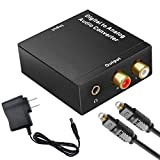 Digital to Analog Audio Converter, Amtake 192 kHz