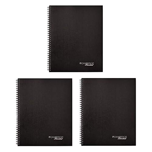 Cambridge Limited Meeting Planner, 11 x 8 1/4, 80 Sheets, Pack of 3 (06132) ()