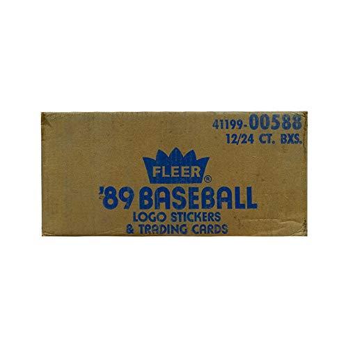 (1989 Fleer Baseball Cello 12-Box Case )