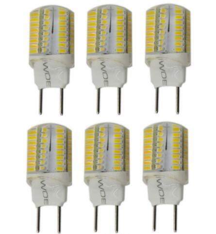 (Best to Buy 10pack G8 3W 64SMD3014 ,Warm White,3000K Base G8 Bi Pin LED Halogen Replacement Bulb, 100-130V AC, Desk Lamps, Pendant Lights, Puck Lights, Under-counter Light...)