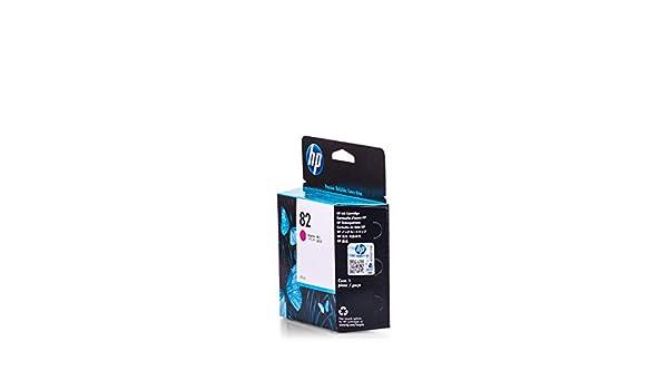 Original de tinta para HP Designjet 500 PS HP 82, no82, Nr 82 C4912 a – PREMIUM Impresora de tinta – Magenta – 69 ml: Amazon.es: Oficina y papelería