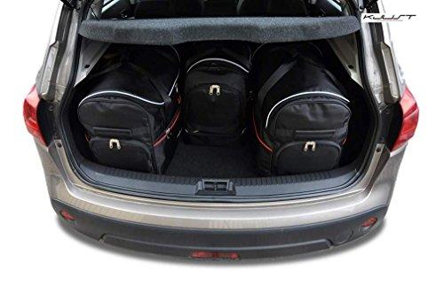 CAR BAGS AUTO TASCHEN MASSTASCHEN ROLLENTASCHEN NISSAN QASHQAI, I, 2007-2014 -KJUST