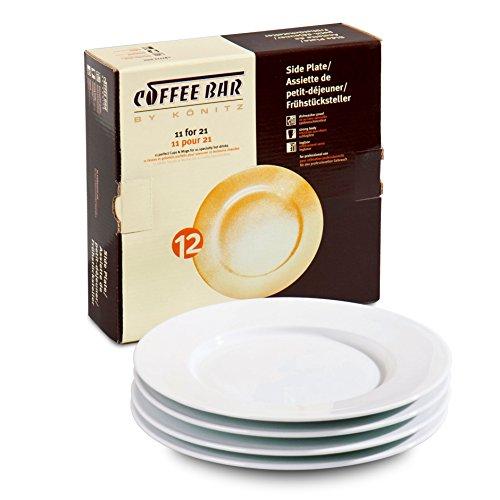Konitz Coffee Bar No.12 Plates, Set of 4