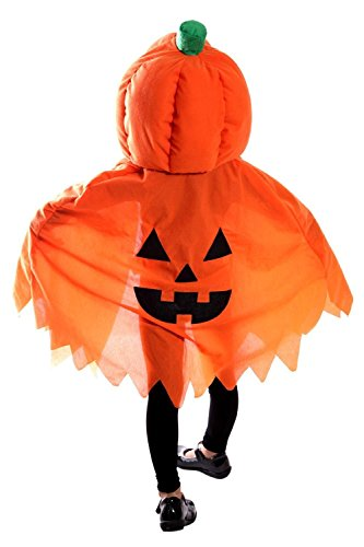 Fantasy World Pumkin Halloween Costume f. Babies and Toddlers, One Size, Jo02