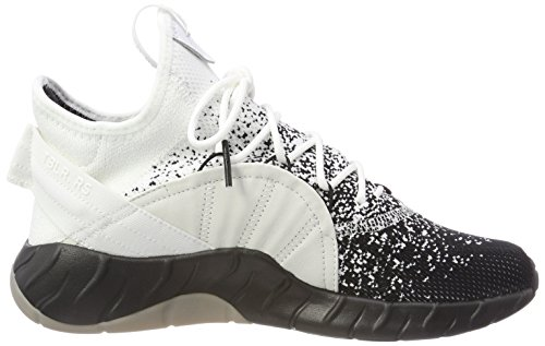 adidas Herren Tubular Rise Primeknit Hohe Sneaker Weiß (Footwear White/Core Black/Lgh Solid Grey)