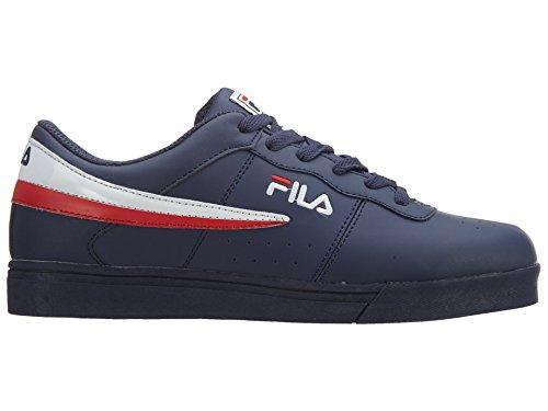 Fila Mens Vulc 13 Sneaker Fila Navy, Bianco, Rosso Fila