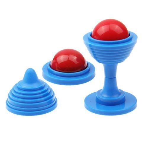 Magia: palla scompare dal vaso, trucco di magia per bambini e professionisti dirty-jokes