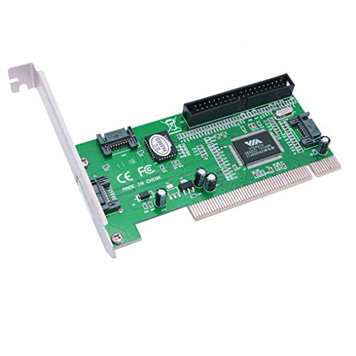 Loria PC Tablet Computer 3 ports SATA + IDE Serial HDD ATA PCI Card Converter Adapter