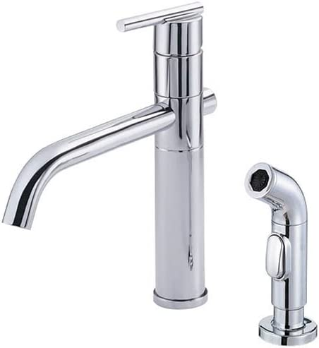Danze D404458 Parma Single-Handle Kitchen Faucet with Spray, Chrome