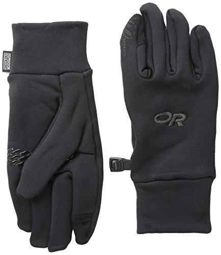(Outdoor Research Women's PL150 Sensor Gloves, Black, Small)
