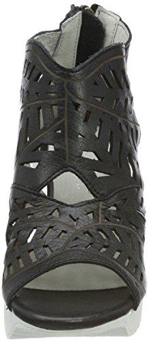 35 WoMen Sandals Laura Vita Black Noir Armance Toe Noir Open OSWZEfwq