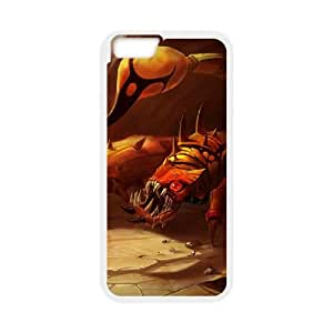 iPhone 6 Plus 5.5 Inch Cell Phone Case White League of Legends Sandscourge Skarner SH3824864