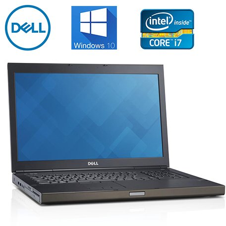 Windows Mobile Workstation (Dell M6800 Precision 17