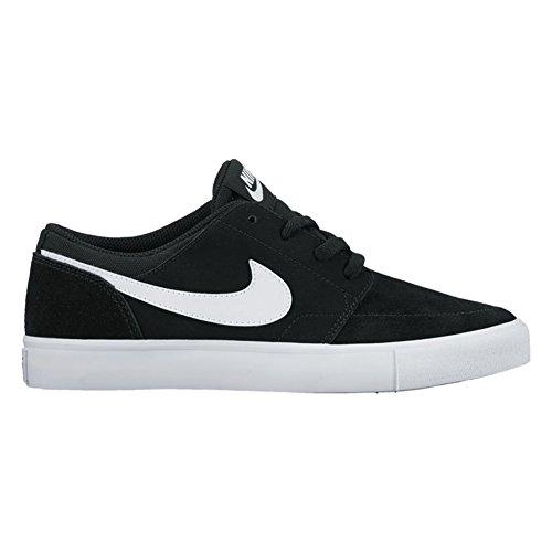 Nike Jungen SB Portmore II (GS) Skateboardschuhe Schwarz