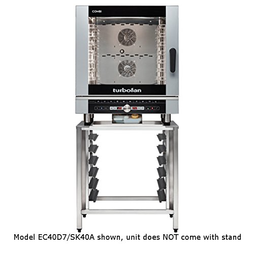 Moffat EC40D7 Turbofan Electric Full Size Combi Oven,  Hotel