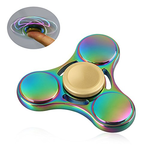 Fidget Spinner Original NiUB5 Small EDC Finger Toy Colorful