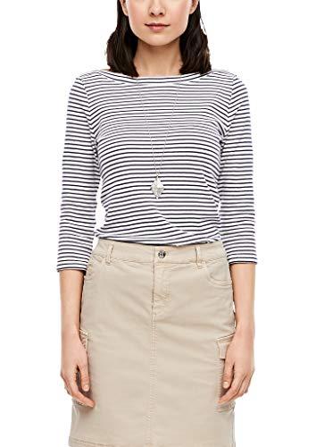 s.Oliver RED Label Damen Streifenshirt mit 3/4-Arm
