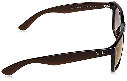 Sol hombre Gafas Ray RED JUSTIN BROWN BROWN RB Ban SHADED de 4165 FZZwcqP5U