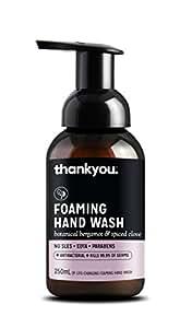 Thankyou Foaming Hand Wash Botanical Bergamot & Spiced Clove - Replenishing (250mL)