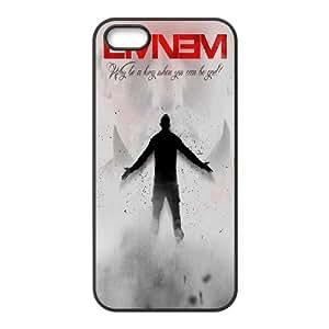[AinsleyRomo Phone Case] For Apple Iphone 5 5S Cases -Eminem Marshall Mathers-Style 1