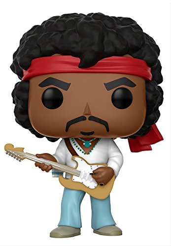 Funko Pop Rocks: Music - Jimi Hendrix Woodstock Toy Figure