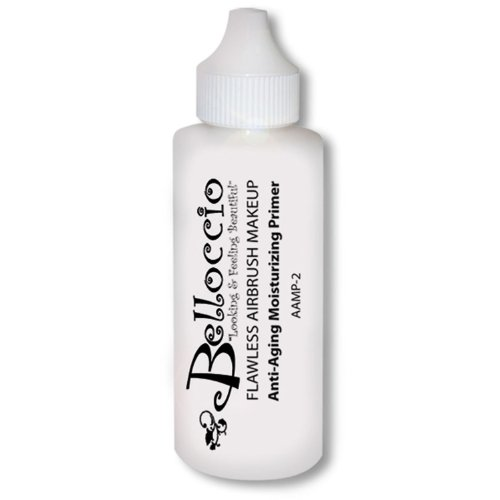 Belloccio Moisturizing Primer Anti-Aging Airbrush Makeup-Large 2-oz Bottle ()