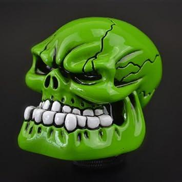 Bingohobby Totenkopf Schaltknauf 5 Gang 6 Gang Skull Schalthebel kn/äufe Gear shift knob Universal