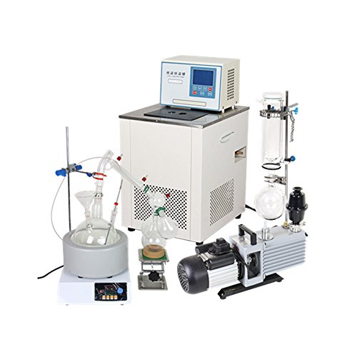 5L Short Path Distillation Standard Set w/Vacuum Pump & Chiller