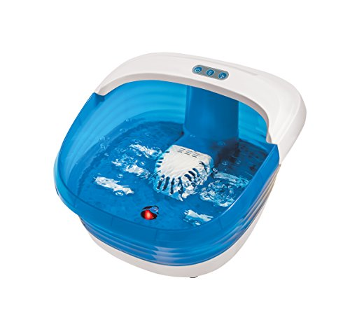Sharper Image SMG1551WH Foot Spa with Heat and Massage, Jacuzzi Water Jets, Relaxing Foot Bath with 6 (Relaxing Foot Massage)