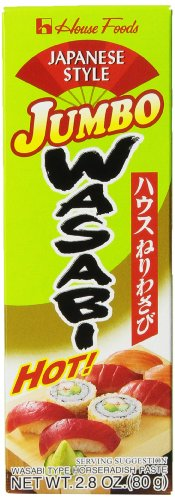House Wasabi Jumbo, 2.8-Ounce Tubes (Pack of 10)