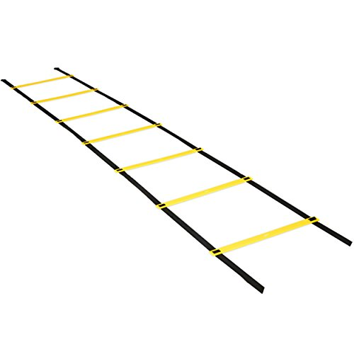 Perfect Soccer Skills Premium Soccer Training Agility Ladder + Free Carrying Bag by Perfect Soccer (Image #1)