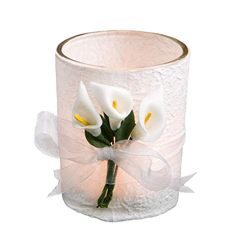 Fashioncraft Calla Lilly Wedding Favor Candles,