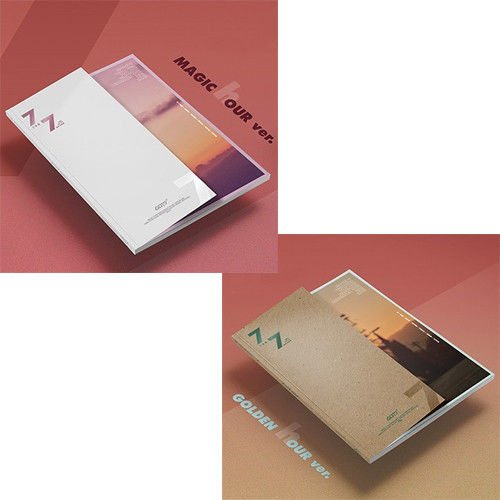 GOT7 [7 FOR 7] Album Random Ver CD+Photobook+3p Photocard+Lyrics Book+Tracking Number K-POP SEALED