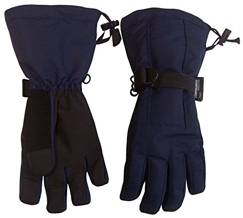 Cuff Snow (N'Ice Caps Kids Extreme Cold Weather Premier Extended Cuff Snowboard Glove (9-11yrs,)