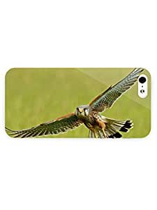 3d Full Wrap Case For Ipod Touch 4 Cover Animal Beautiful Hawk