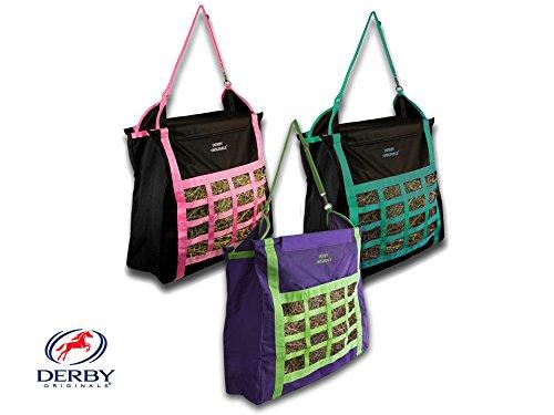 - Derby Originals Supreme Top Load Slow Feed Hay Bag, Purple