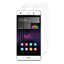 3x kwmobile screen protector for Huawei P8 Lite (2015) CRYSTAL CLEAR - premium quality