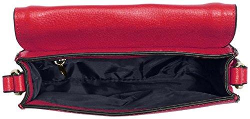 GERRY WEBER Rainbow Flap Bag H, S - Bolso bandolera Mujer Rosa - Pink (pink 303)
