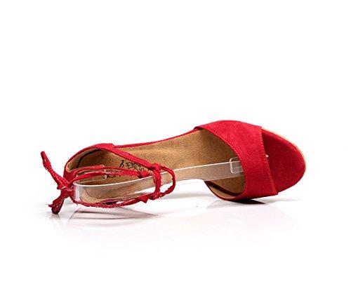 Salsa La Zapatos La De T Mujeres Las Latinos Salsa Tango JSHOE De De 4pqgaA4n