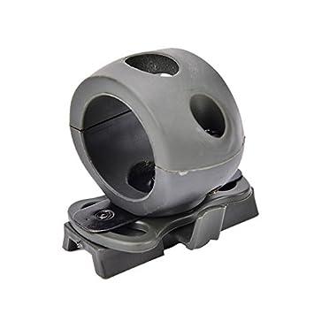 EisEyen Tactical Helme Zubeh/ör Einstellbare Taschenlampe Clamp Flashlight Mount Halterung Clip Taschenlampe Mount Rail Mount taktischen Fashlight Mount